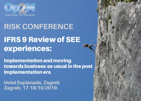RISK CONFERENCE - IFRS 9 Review of SEE experiences @ Esplanade Zagreb Hotel | Zagreb | Hrvatska